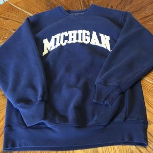 University of Michigan sweatshirt